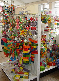 Jos Exotic Bird Toys Parrot Cages and Baby Hand Fed Parrots